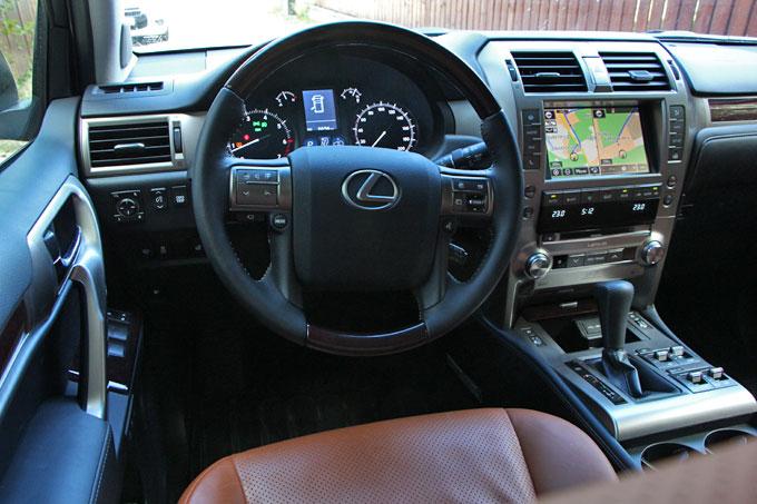 Интерьер (салон) Lexus GX 460 2014