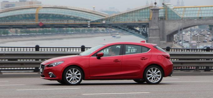 Тест-драйв Mazda3 2014 150 л.с. АКПП-6 в комплектации Supreme в Москве.