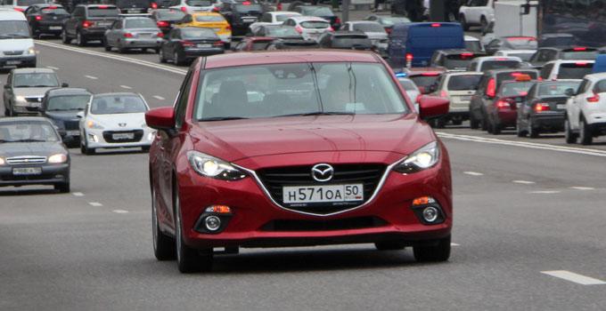 Mazda3 2014 - тест-драйв в Москве