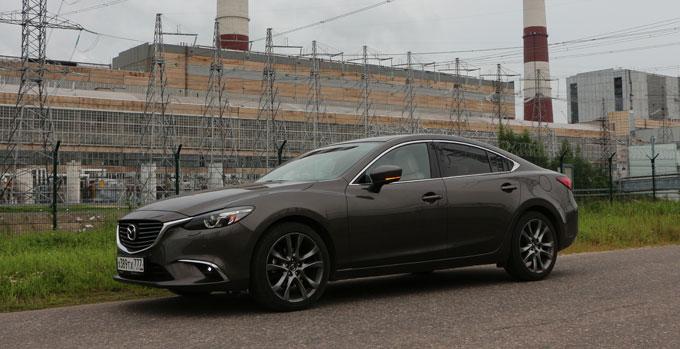 Mazda6 2017 в профиль
