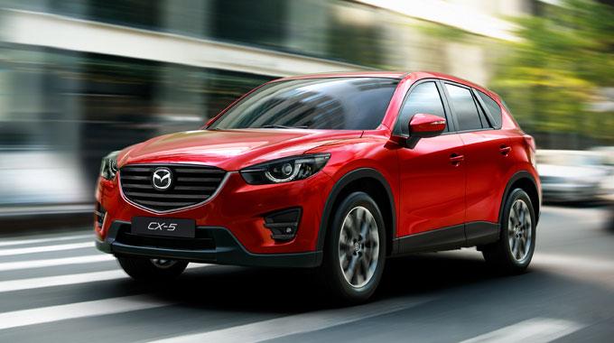 Обновленная Mazda CX-5 2015 начнет продаваться в России в феврале.