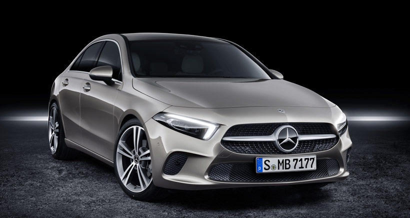 Компактный седан Mercedes-Benz А-класса