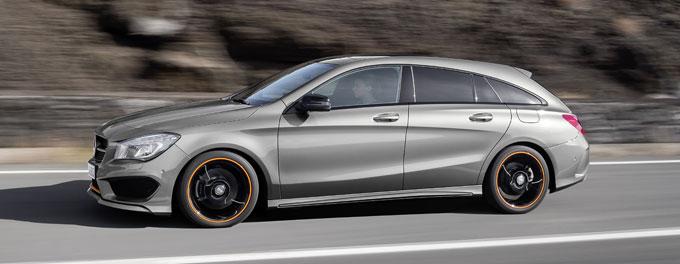 Mercedes-Benz CLA Shooting Brake (универсал) - продажи начнутся в январе 2015 года.