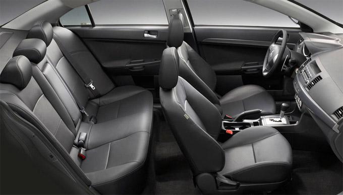 Интерьер (салон) Mitsubishi Lancer X 2016