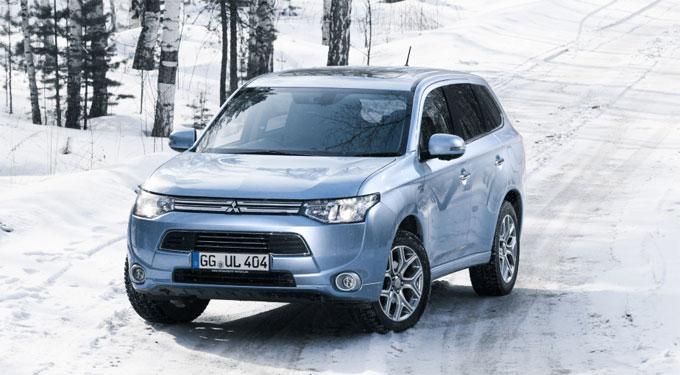 Mitsubishi Outlander PHEV – климатические испытания в России