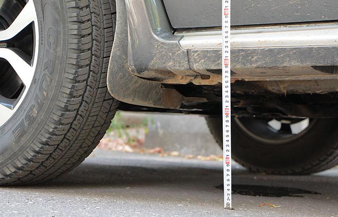 Клиренс (дорожный просвет) Nissan Terrano 2014