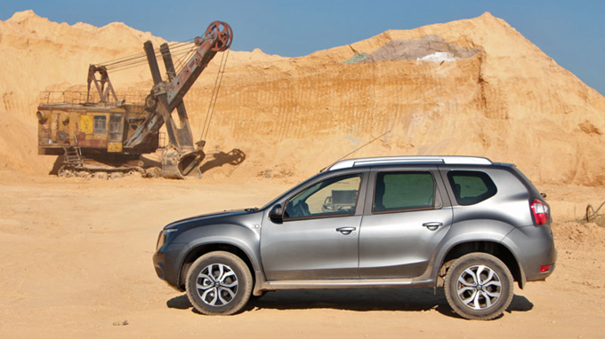 Тест-драйв Nissan Terrano 2014 в Москве