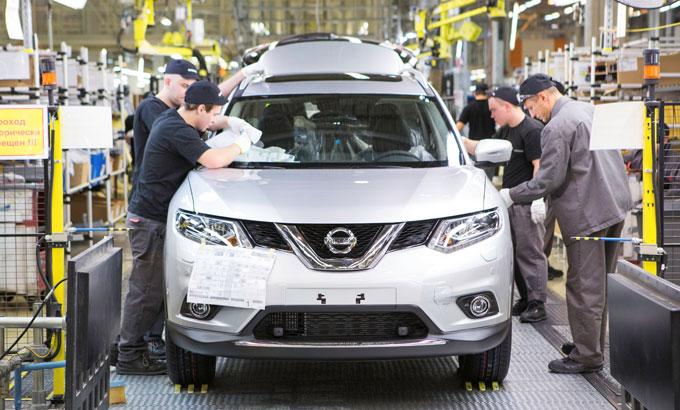 Nissan X-Trail 2015 - производство на заводе в Санкт-Петербурге