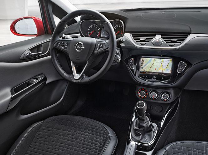 Интерьер (салон) Opel Corsa 2015