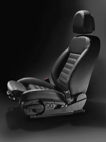 Эргонимичные кресла Opel Insignia и Meriva