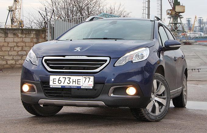 Тест-драйв Peugeot 2008 2014