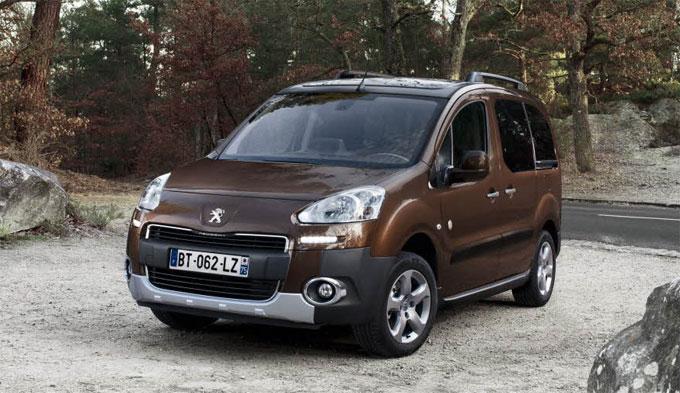 Peugeot Partner Tepee 2014 с новым дизелем и коробкой ETG6