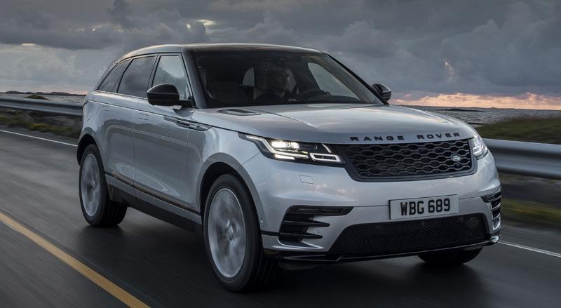 Range Rover Velar  - начало продаж в России