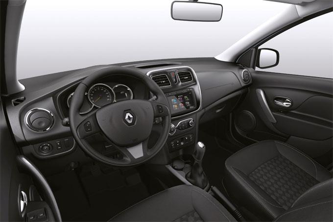 Интерьер (салон) Renault Logan 2014