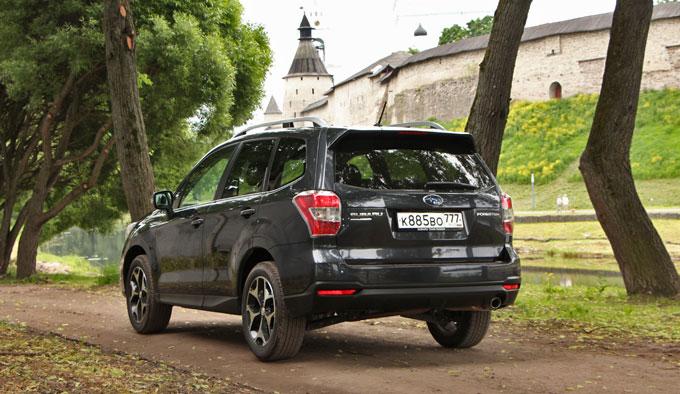 Тест-драйв Subaru Forester 2013 MY Псков