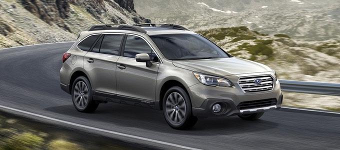 Subaru Outback 2015 (5 поколение) - мировая премьера
