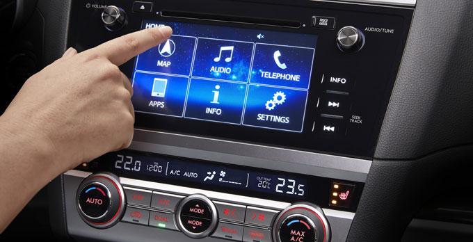 Subaru Outback 2015 - мультимедийная система
