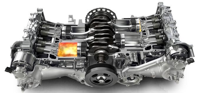 Двигатель Субару Аутбек 2015