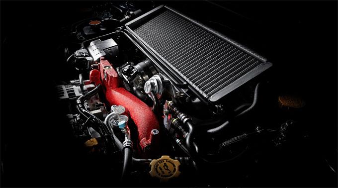 Двигатель Субару WRX STI 2015