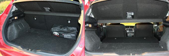 Багажник Тойота Аурис 2014