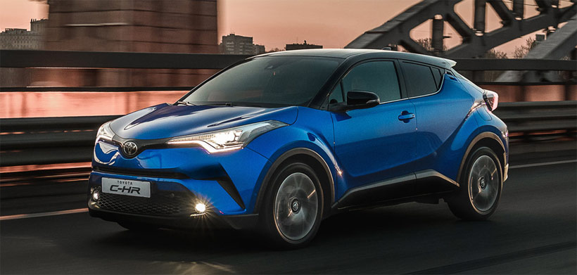 Тойота C-HR - начало продаж в России