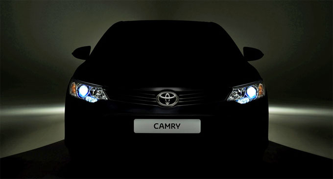 Тизер обновленной Тойота Камри 2015