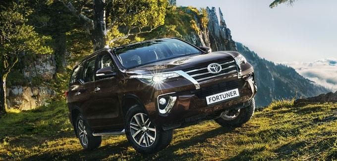 Toyota Fortuner - начало продаж в России. Цены.