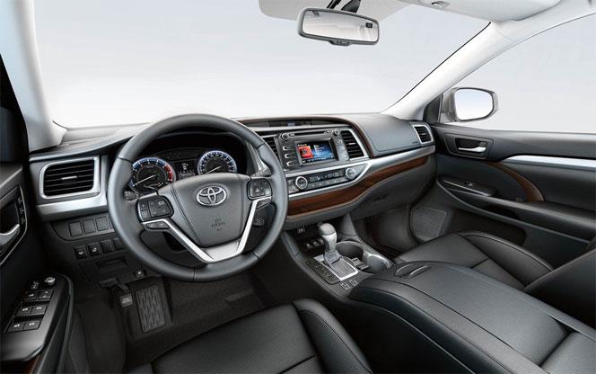Интерьер (салон) Toyota Highlander 2014 - 3 поколение