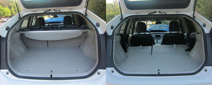 Багажник Toyota Prius