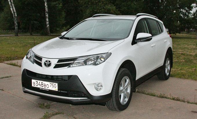 Тойота RAV4 2014 - тест-драйв в Москве