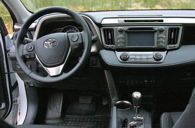 Передняя панель Toyota RAV4 2014
