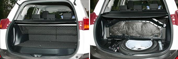 Багажник Тойота РАВ4 2014