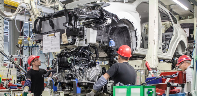 Начало производства Тойота РАВ4 в России.