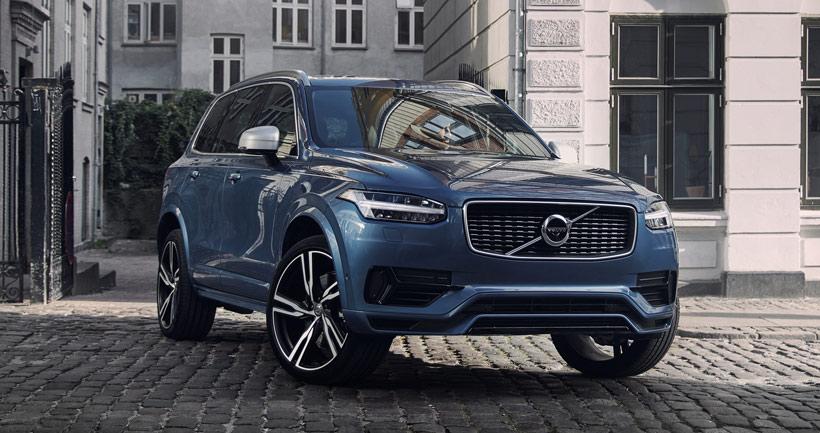 Volvo XC90 T8 (Twin Engine гибрид) - у дилеров в России с сентября 2018г. Цены.