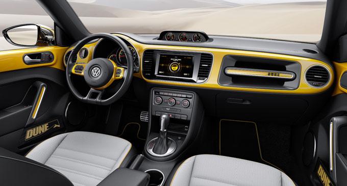 VW Битл Dune - интерьер (салон)