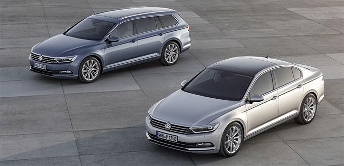 Новый VW Пассат 2015 (8 поколение) - кузов седан и универсал