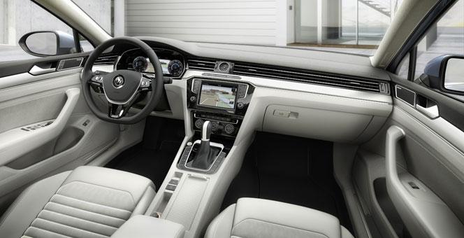 Интерьер (салон) VW Passat 2015
