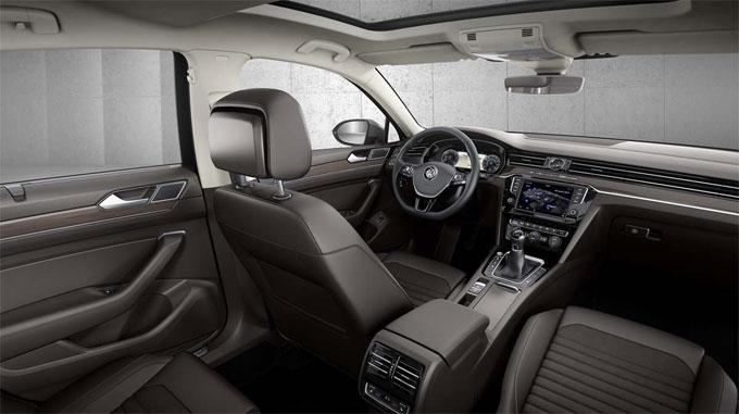 VW Passat 2016 - Интерьер (салон)