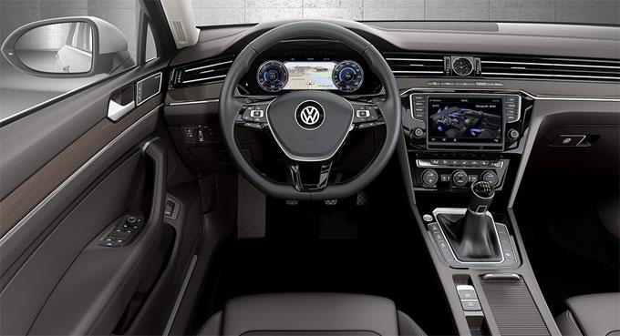 Передняя панель VW Passat 2016