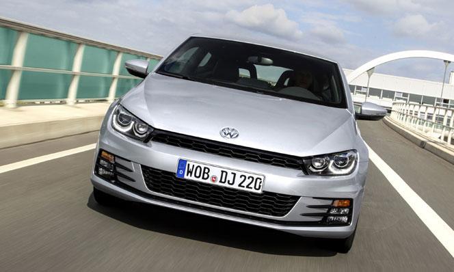 VW Scirocco  2015 - передняя часть