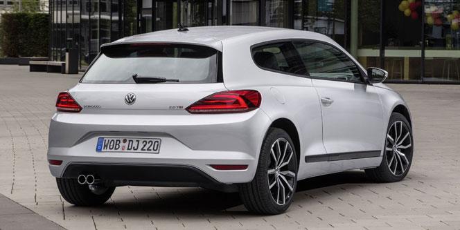 VW Scirocco  2015 - сзади