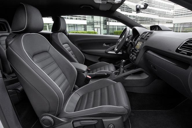 Интерьер (салон) VW Scirocco 2015
