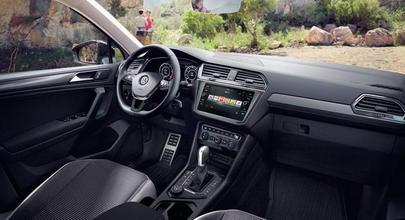 Интерьер VW Tiguan Offroad