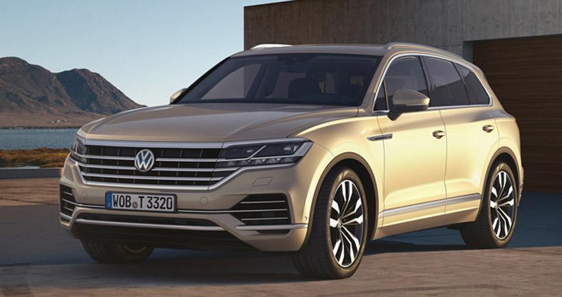 VW Туарег 2018