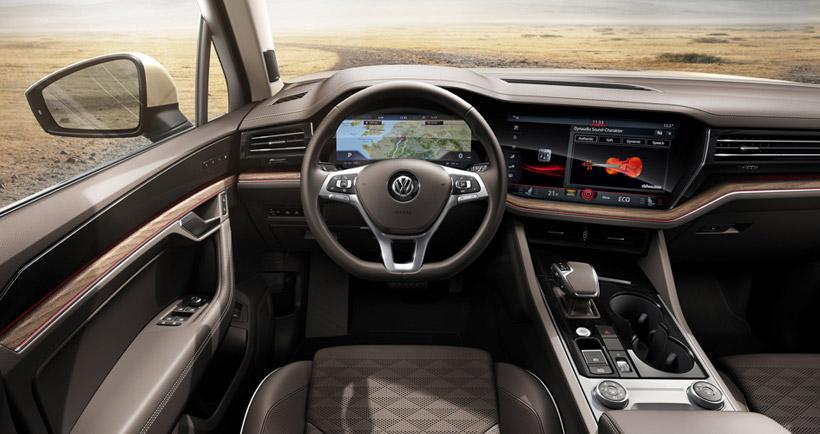 Интрерьер VW Туарег 2018