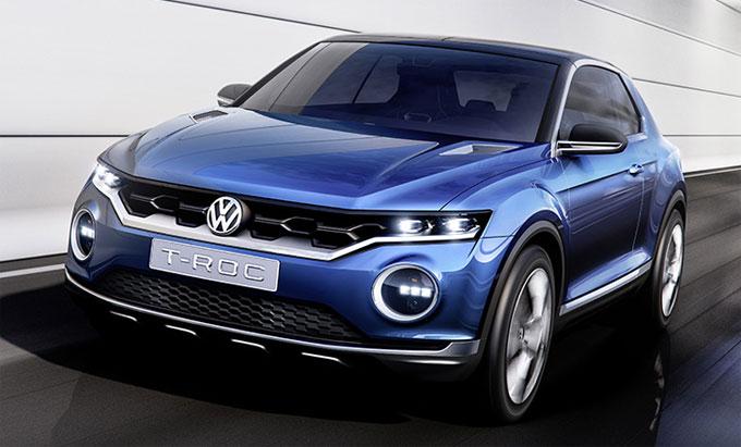 Концепт VW T-Roc 2014